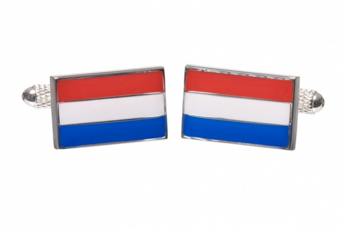 Dutch Flag Cufflinks